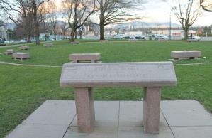 Marker of Change Women's Monument. Thornton Park, Unceded Coast Salish Territories (Vancouver, B.C.)